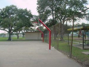 Travis Park Basketball Court